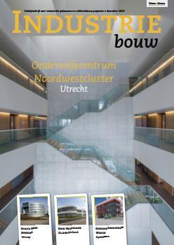 cover Industriebouw, editie 21, december 2015