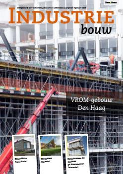 cover Industriebouw, editie 22, januari 2016